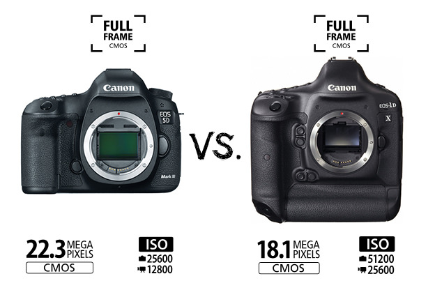 Canon EOS-1D X vs. the EOS 5D Mark III – ISO Comparison Test