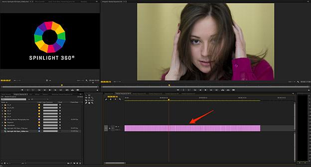 Pr_TimeLine Stop Motion Photography spinlight 360 spinlight360.com