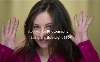 Stop Motion Photography Using The SpinLight 360®