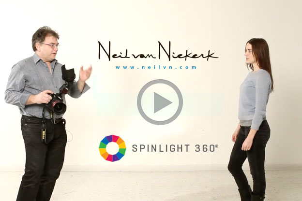 Neil van Niekerk's SpinLight 360® Demo [Video]