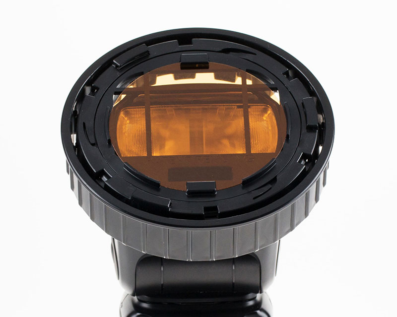 Spinlight 360 gel Spinlight360.com flash photography portrait ring module