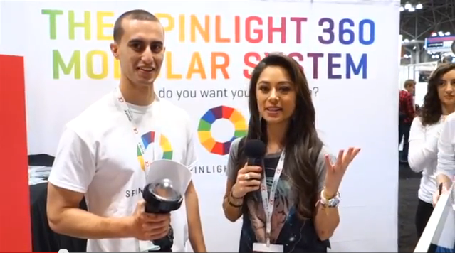 OliviaTech.com Features The SpinLight 360® At The PhotoPlus Expo In NY