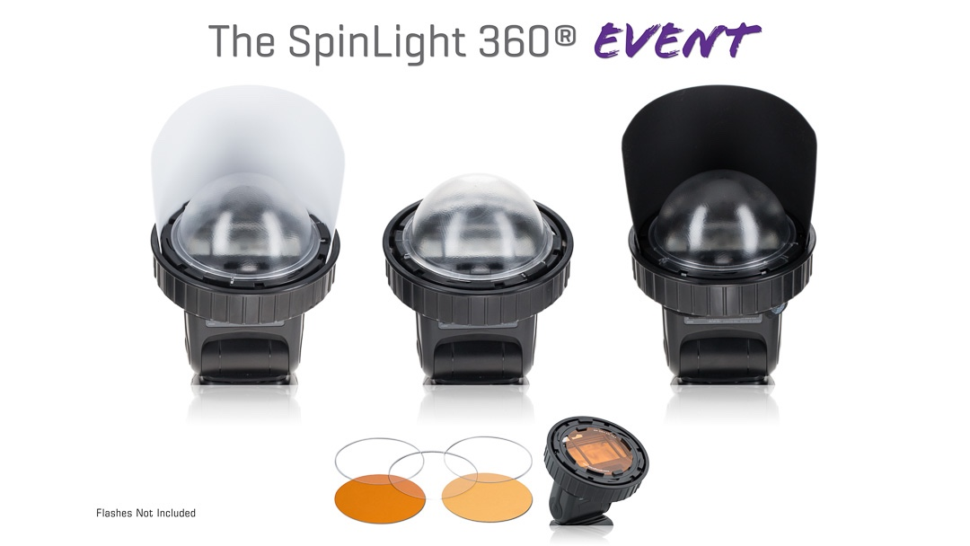 Spinlight 360 event modular system flash photography Spinlight360.com